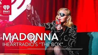 "Madonna Reveals Thoughts On David Bowie, Her Mother + More In iHeartRadio's ""The Box"""