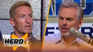 Joel Klatt on the development of Mac Jones, Clemson vs. Notre Dame, Jim Harbaugh | CFB | THE HERD