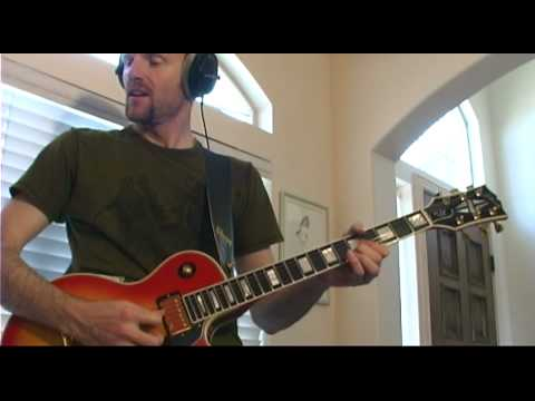 Def Leppard Armageddon It (w/correct solo) cover - Kenyon Denning