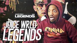 JUICE KNEW SOMETHING WE DIDN'T! | Juice Wrld - Legends (REACTION!!!)