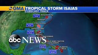Tropical Storm Isaias could near the US East Coast by this weekend l GMA