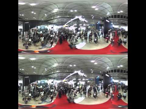 3D360 CP+ Shot on Twin Theta S