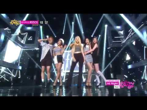 [COMEBACK STAGE] f(x)_( 에프엑스)  All Night On Music core