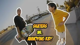 SKATERS vs THE WORLD #56! | Haters, Cops, Security & Cool People!