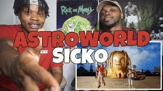 Travis Scott - ASTROWORLD - SICKO - REACTION!!