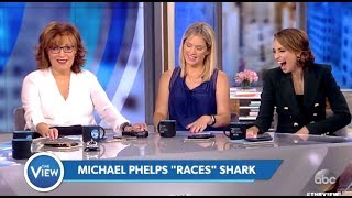 Panel Laughs At Phelps CGI Shark Race - The View