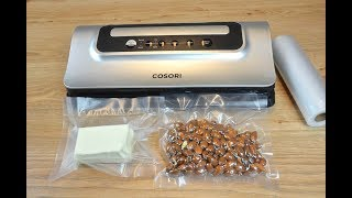 Keep Food Fresh Longer With Cosori Vaccum Sealer   Food Saver