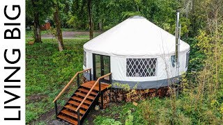 Amazing Modern Yurt Is A Design Marvel