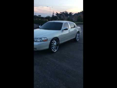 Lincoln Towncar On 24s Videomoviles Com