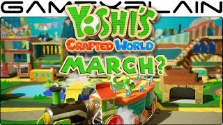 Yoshi's Crafted World's eShop Placement Might Point to March Release