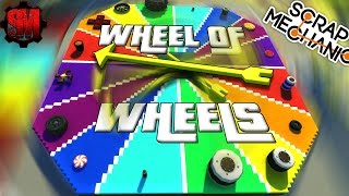 RANDOM WHEELS RACE! - Scrap Mechanic Multiplayer Monday! Ep33