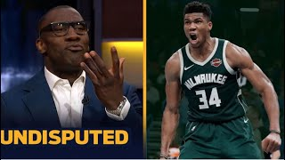 UNDISPUTED | Shannon reacts to Giannis' performance in the NBA Finals Game 6 last night