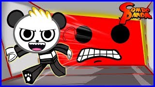 ROBLOX Crushed by a Speeding Wall RUN FOR COVER Let's Play with Combo Panda