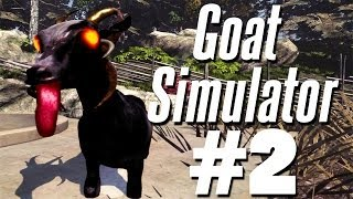 SUMMON THE DEMON GOAT | Goat Simulator - Part 2