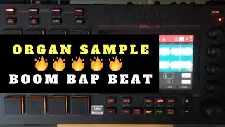 Gritty Organ Beat Making In MPC Live | Chopping Block