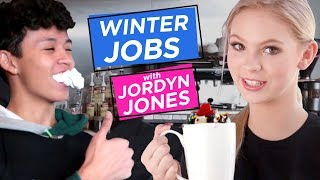 JORDYN JONES BARISTA | Winter Jobs w/ Jordyn Jones