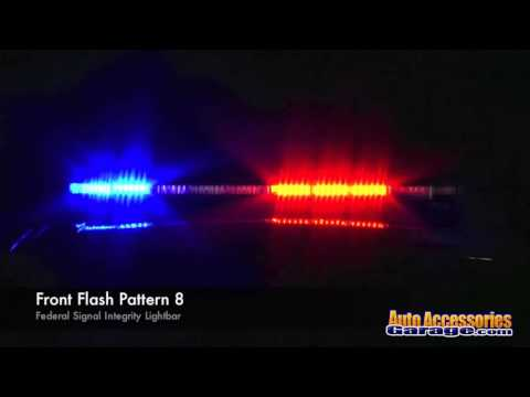 Federal Signal Integrity LED Light Bar
