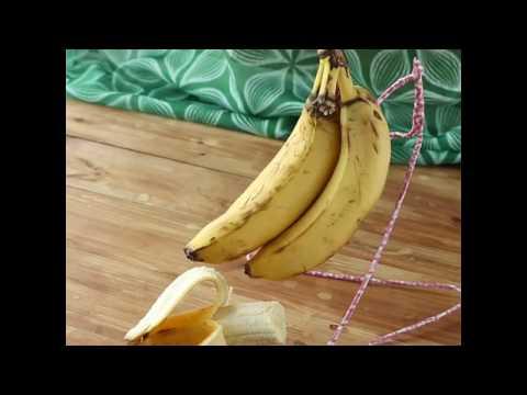 옷걸이로 바나나걸이 만들기 : How to make Banana Hanger 바나나 보관법 [밥타임]