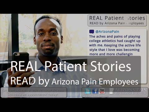 #APCares - Pain Patient Stories, Read by Arizona Pain Employees