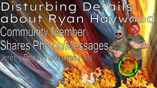 Disturbing Details Emerge About Ryan Haywood - [Achievement Hunter Controversy Update]