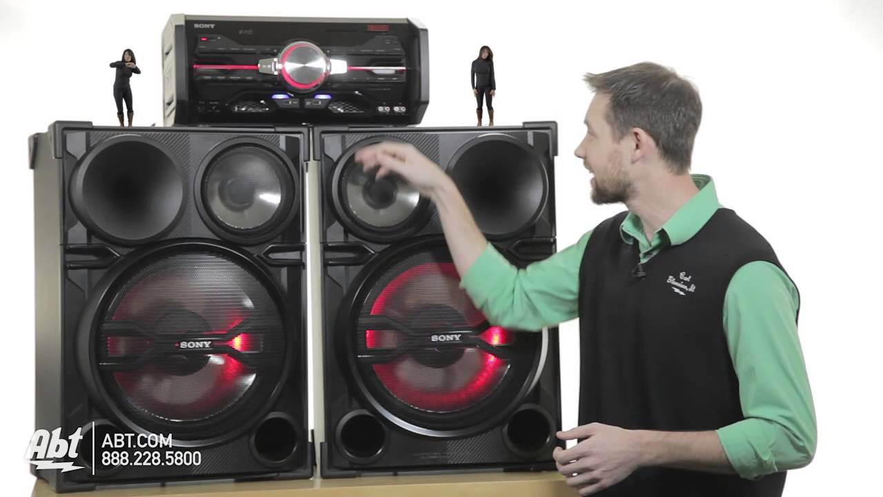Easy C S Overview Of The Huge Sony Lbt Sh2000 Dj Sound