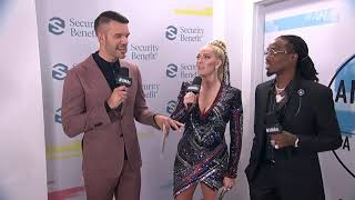 Quavo Red Carpet Interview - AMAs 2018