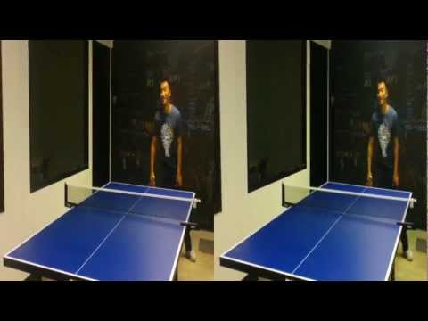 Playing ping pong @ CHUTE headquarters (YT3D:Enabled=True)