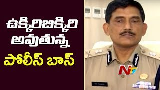 DGP Thakur facing tough times with series of crimes in AP..