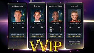 WOWOW !! GOT 4 PLAYERS +8 IN VVIP TRADE MODE - FIFA ONLINE 3 :O :O