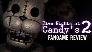 Five Nights at Candy's 2 (FNAC2) - Fangame Review