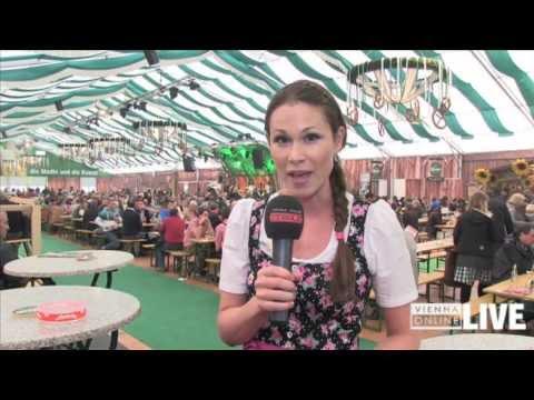 Wiener Wiesn-Fest 2013: Trachtenpärchen-Rekordversuch