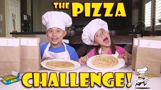 PIZZA CHALLENGE with Chef EvanTubeHD! Secret Recipe!