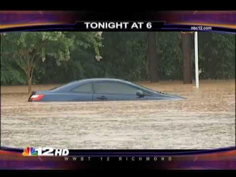 """NBC 12 News - """"Flooded Cars"""""""