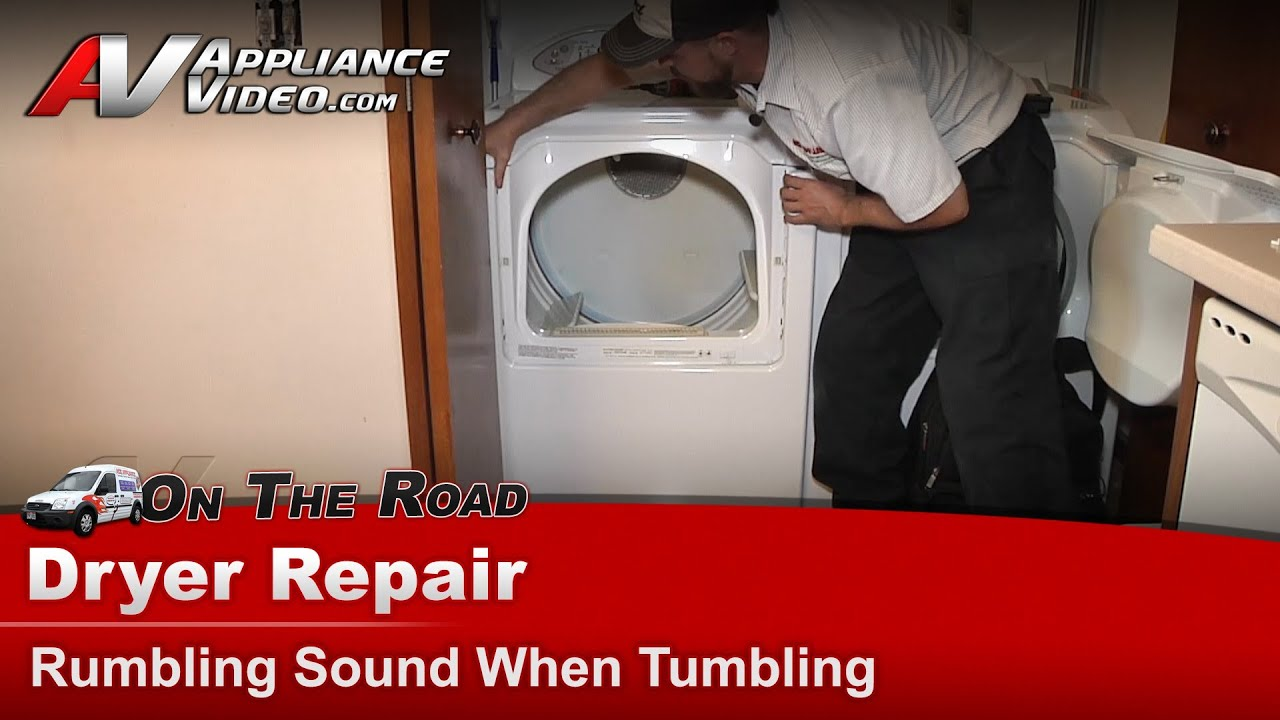 Maytag Whirlpool Dryer Rumbling Amp Grinding Noise When