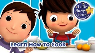 Learn How To Cook | Learn With LBB | Little Baby Bum
