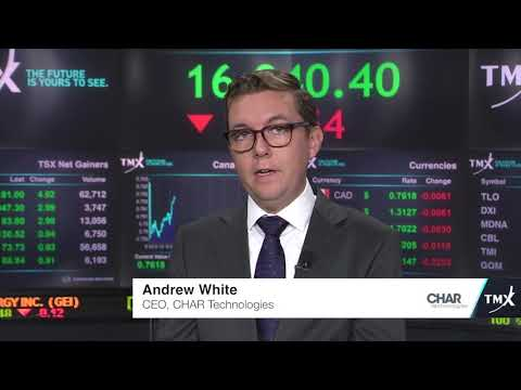 View from the C-Suite: Andrew White, CEO, CHAR Technologies Ltd., tells his company's story.