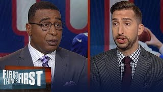 Giants benching Eli Manning should've happened before the season — Nick | NFL | FIRST THINGS FIRST