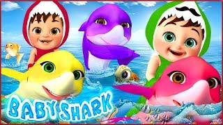 🔴 Baby Shark , Baby Bath Song , Wheels on the Bus , Happy Birthday Song - Banana Cartoon [HD]