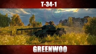 Гайд по среднему танку 7 уровня Китая - Т-34-1 от Greenwoo