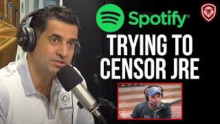Spotify Employees Demanding to Censor Joe Rogan