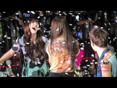 [fancam] 120623 f(x) Krystal - Ending @ Music Bank in HK by SSK(jungsoojung bar)