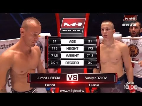 M-1 Challenge 96: Lisiecki brutalnie znokautowany przez Kozlova