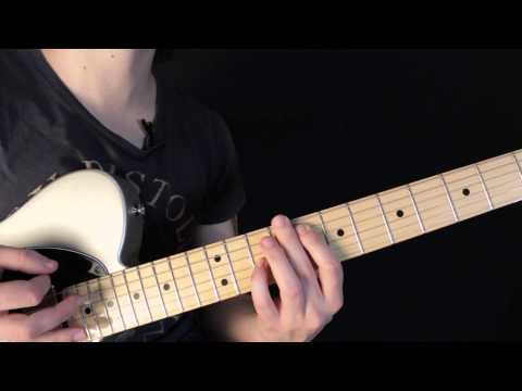 Baixar Como tocar Hysteria de Muse - Leccion de Guitarra Electrica - Verso y Riff - Parte 1