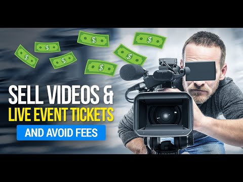 Pay Per View Streaming / Sell Live Streams & Video Courses and Make Money $$$