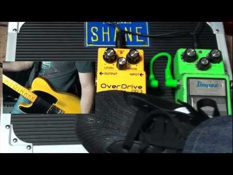 BOSS OD-3 vs Ibanez Tubescreamer TS9 Pedal