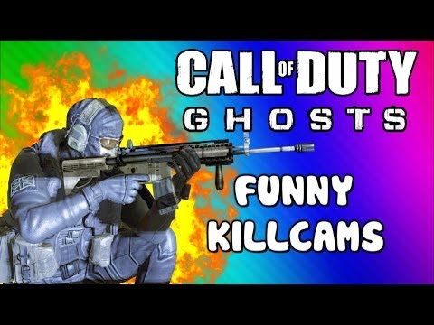 COD Ghosts Funny Killcams - Gas Station Kill, Body Launch, LMG Spray, No Scope (Trolling / Funtage) - Smashpipe Games