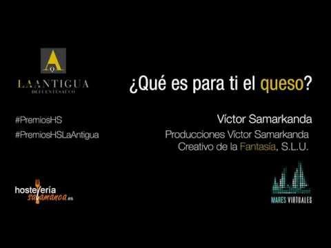 Qué es para tí el Queso? Por Víctor Samarkanda - Quesería la Antigua de Fuentesaúco.