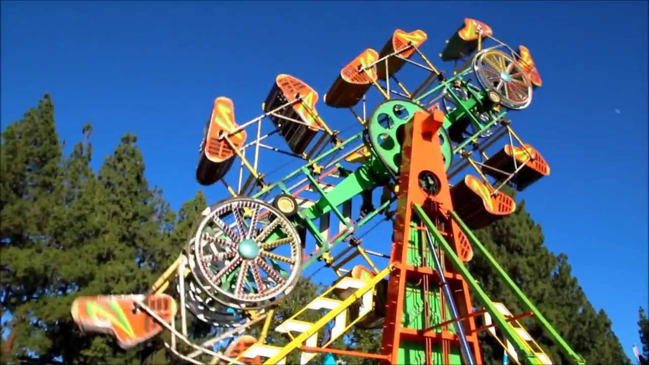 Zipper ride. California State Fair 2013. CalExpo. - YouTube
