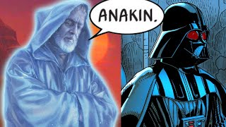 When Darth Vader Talked to Obi-Wan Kenobi's Ghost(Canon) - Star Wars Comics Explained