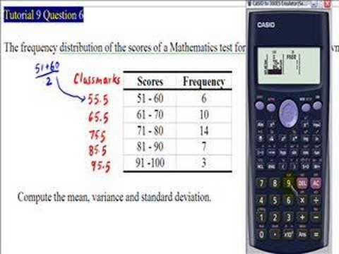 Standard Deviation Calculator Online Info
